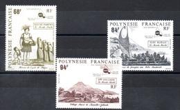 POLYNESIE N° 379/  381 - Polynésie Française