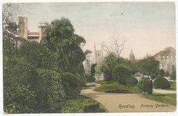 Reading. Forbury Gardens, 1904 Postcard - Reading