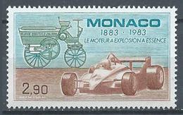 Monaco YT N°1371 Le Moteur à Explosion à Essence Neuf ** - Monaco