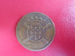 Monnaie De Siège - 10 Sols 1708 - Lille - Cuivre 23mm 4,3g SUP - 1643-1715 Louis XIV. Le Grand