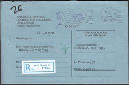 Croatia Zagreb 2005 / Opcinski Sud / Municipal Court - Croatie