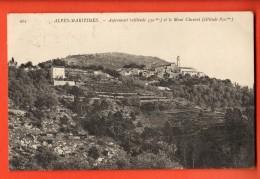 NEQ-23  Aspremont  Et Mont Chauvet .  Circulé 1910 - France