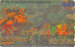 Télécarte  DOREE Japon / 110-016 - MANGA - SEGA - CYBER TROOPERS  - Japan GOLD Phonecard Jeu Video Game - 9347 - BD