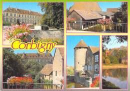 ** Lot De 2 Cartes ** 58 - CORBIGNY - Jolies CPM - Nièvre - Corbigny