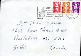 2- FRANCE Marianne De Briat AFFRANCHISSEMENT TRICOLORE De 59 SECLIN 07/03/1994 - Variedades Y Curiosidades