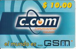ARUBA - C_Com Prepaid Card $10, Used - Aruba