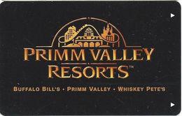 Primm Valley Casino Resorts - Hotel Room Key Card - Hotel Keycards