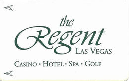 The Regent Casino - Las Vegas, NV - Hotel Room Key Card - Hotel Keycards