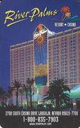 River Palms Casino - Laughlin, NV - Hotel Room Key Card - Hotel Keycards