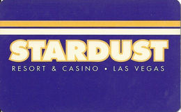 Stardust Casino - Las Vegas, NV - Hotel Room Key Card - Hotel Keycards