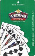 Texas Station Casino - Las Vegas, NV - Hotel Room Key Card - Hotel Keycards