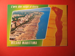 CARTOLINA  MILANO MARITTIMA   VEDUTINE   - D 148 - Pin-Ups