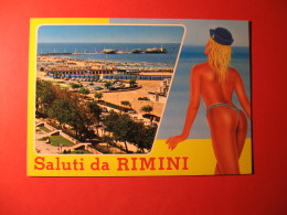 CARTOLINA  SALUTI DA RIMINI    - D 151 - Pin-Ups