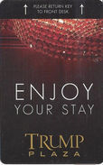 Trump Plaza Casino - Atlantic City, NJ - Hotel Room Key Card - Hotel Keycards