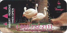 Flamingo Casino - Las Vegas, NV - Narrow Hotel Room Key Card - Hotel Keycards