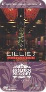 Golden Nugget Casino - Las Vegas, NV - Narrow Hotel Room Key Card - Hotel Keycards