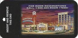 Horseshoe Casino - Narrow Hotel Room Key Card - Hotel Keycards