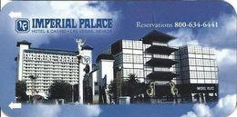 Imperial Palace Casino - Narrow Hotel Room Key Card - Hotel Keycards
