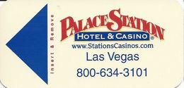 Palace Station Casino - Las Vegas, NV - Narrow Hotel Room Key Card - Hotel Keycards