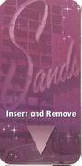 Sands Casino - Atlantic City, NJ - Narrow Hotel Room Key Card - Hotel Keycards