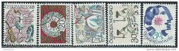 Cecoslovacchia 1976 Usato - Mi.2314/8  Yv.2158/62 - Cecoslovacchia