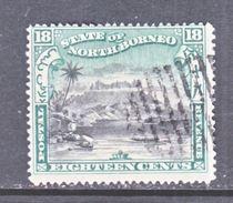 NORTH  BORNEO  87   (o) - North Borneo (...-1963)