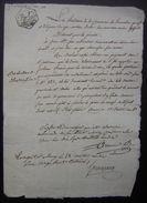 Varambon Ventose L'an 10 (Ain) Document  à Propos De L'affaire Jean Baptiste Pin (île) - Manuscripts