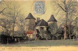24 ST VIVIEN CHATEAU DE LA REYNAUDIE PAS COURANTE - France