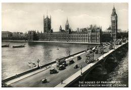 (206) England - House Of Parliament + Bridge - Houses Of Parliament