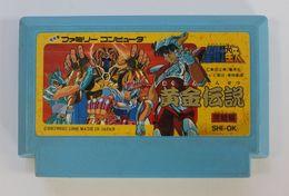 Famicom Japan : Saint Seiya: Ougon Densetsu Kanketsu-Hen SHI-OK - Electronic Games