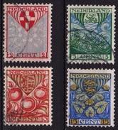 1926 Kinderzegels Complete Gestempelde Serie NVPH 199 / 202 - 1891-1948 (Wilhelmine)