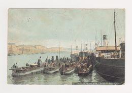 Boulogne Sur Mer  -- Escadrille De Torpilleurs  --- Timbre Taxe 10 Cts Au Dos - Boulogne Sur Mer