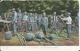 Herftellen Von Drachthinderniffen - Guerre 1914-18