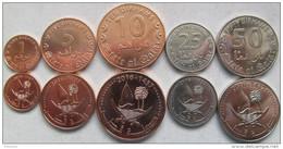 New! Qatar Set Of 5 Coins 2016 (1+5+10+25+50 Dirhams) UNC - Qatar