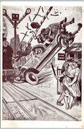 ILLUSTRATEUR -- G. CONRAD -- Les Incidents De La Route  - Le Passage à Niveau - Conrad