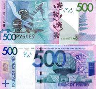 BELARUS 500 Rubles P 43 Replacement XX Serial 2009 ( 2016 )  UNC - Bielorussia