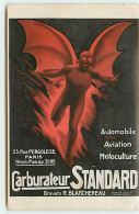 Carburateur Standard - 23 Rue Pergolese PARIS - Diable - Advertising