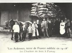 Les Ardennes, Terre De France Oubliée En 14-18 - Lot De 4 CPSM ( Série 1 : Le Travail Obligatoire ) - Francia