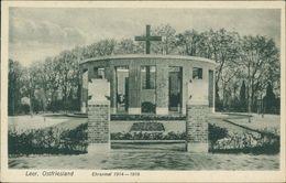 AK Leer Ostfriesland, Ehrenmal, Um 1920 (10127) - Leer