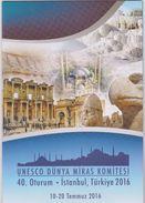 "Turchia-Turkey 2016 ""UNESCO Patrimonio Mondiale"" - FOLDER Tiratura Solo 6.000 Pezzi MNH - UNESCO"