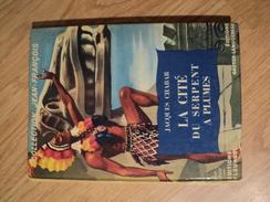 FLEURUS / GAUTIER LANGUEREAU COLLECTION JEAN FRANCOIS. 1954. JACQUES CHABAR LA CITE DU SERPENT A PLUMES - Books, Magazines, Comics