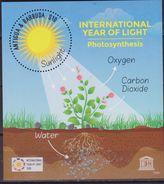 Antigua & Barbuda Unesco Int.l Year Of Light Sheet MNH - UNESCO