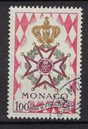"""Monaco YT 490 """" Ordre De Saint-Charles  """" 1958 Oblitéré - Used Stamps"""