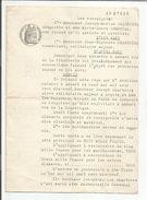ACTE D'ACHAT DE FOND à AMBERT PUY DE DOME - FILIGRANE REPUBLIQUE FRANCAISE 1930 - Vieux Papiers