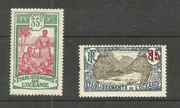 Océanie N°30, 59 Cote 3.30 Euros - Used Stamps