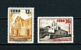 Cuba  Nº Yvert  A-173/4  En Nuevo - Poste Aérienne