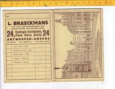 43216 - ANCIEN POCHETTE DE PHOTO - L. BRAECKMANS ANTWERPN - Photographie