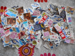 1000 ZEGELS BELGIE GESTEMPELD - Collezioni