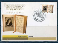 Italia 2003 - Bernardino Ramazzini - Cartolina Maximum - Cartes-Maximum (CM)