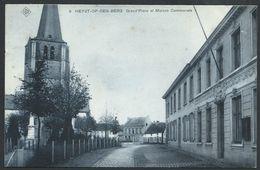 CPA HEYST-OP-DEN-BERG  Grand'Place Et Maison Communale  SBP - Heist-op-den-Berg